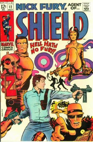 Nick Fury # 12 Issues V1 (1968-1971) - Nick Fury, Agent of SHIELD