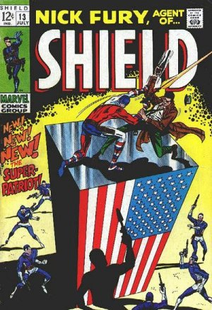 Nick Fury # 13 Issues V1 (1968-1971) - Nick Fury, Agent of SHIELD