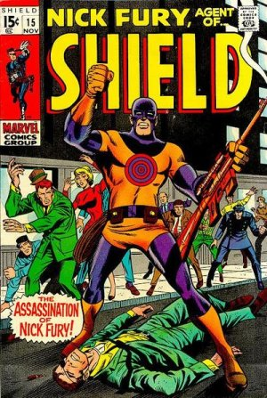 Nick Fury # 15 Issues V1 (1968-1971) - Nick Fury, Agent of SHIELD