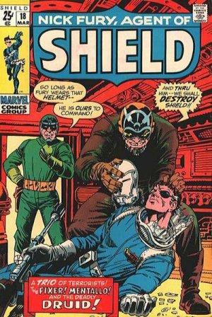 Nick Fury 18 - Who Strikes At - - - SHIELD?