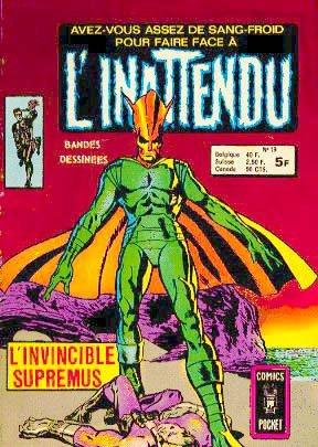 Nick Fury # 13 Kiosque (1975 - 1980)