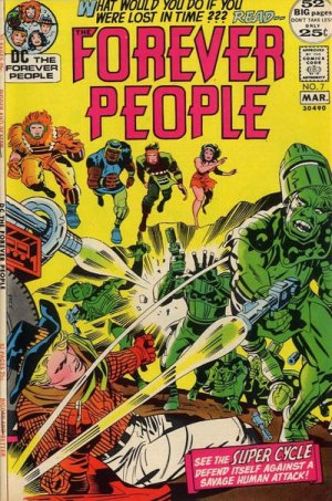 Forever people # 7 Issues V1 (1971 - 1972)