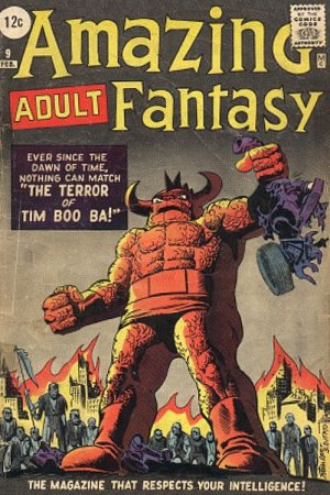 Amazing Adult Fantasy # 9 Issues (1961 - 1962)