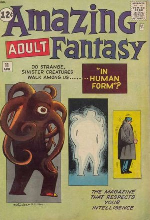 Amazing Adult Fantasy # 11 Issues (1961 - 1962)