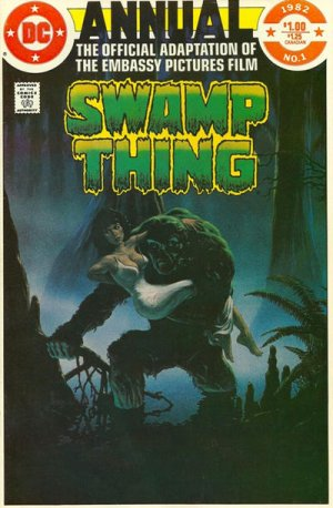 The saga of the Swamp Thing édition Issues V1 - Annuals (1982)