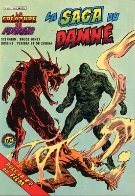The saga of the Swamp Thing # 2 Kiosque (1983)
