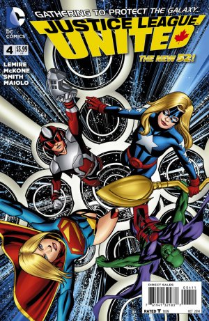 Justice League United # 4 Issues V1 (2014 - 2016)
