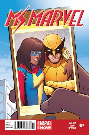 Ms. Marvel # 7 Issues V3 (2014 - 2015)