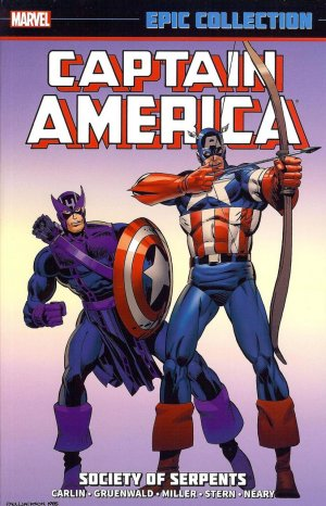 Captain America édition TPB Softcover - EPIC Collection