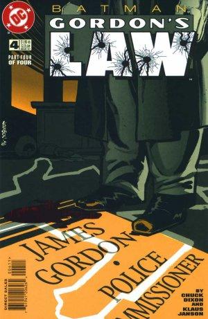 Batman - Gordon's law # 4 Issues