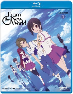Shinsekai Yori édition Blu-ray