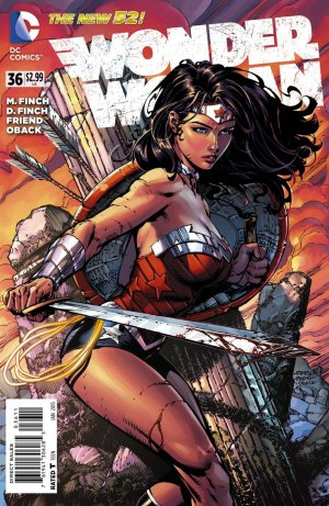 Wonder Woman # 36 Issues V4 - New 52 (2011 - 2016)