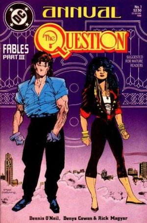 The Question édition Issues V1 - Annuals (1988 - 1989)