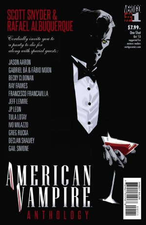 American Vampire Anthology édition Issues