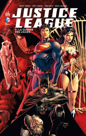 Justice League # 5 TPB hardcover (cartonnée)