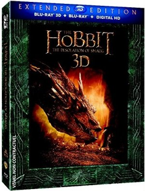 Le Hobbit : la Désolation de Smaug édition Version longue combo 3D