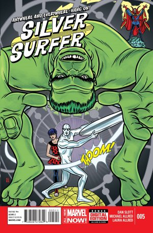 Silver Surfer # 5 Issues V7 (2014 - 2015)