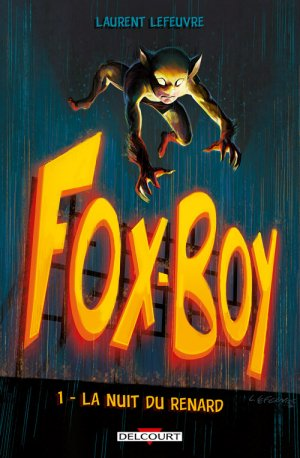Fox-Boy édition TPB hardcover (cartonnée)