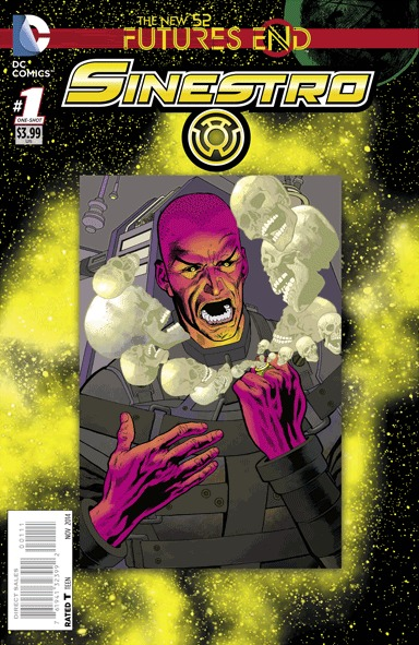 Sinestro - Futures End # 1 Issues