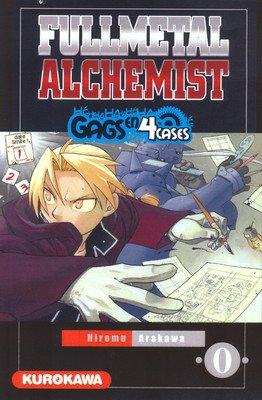 Fullmetal Alchemist édition Gags en 4 cases
