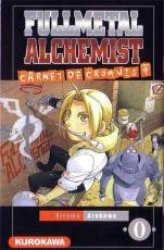 Fullmetal Alchemist édition Carnet de croquis