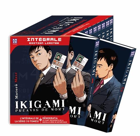 Ikigami - Préavis de Mort édition Intégrale
