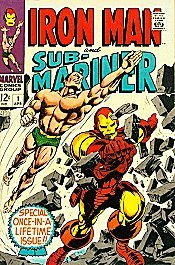 Iron Man and Sub-Mariner édition Issues V1 (1968)