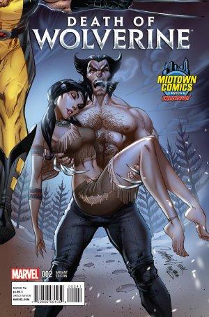 La Mort de Wolverine 2 - Death of Wolverine Part Two (Midtown Comics Exclusive Variant Cover)