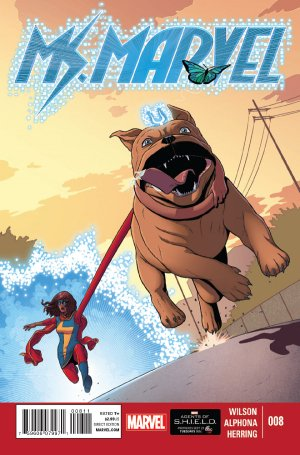 Ms. Marvel # 8 Issues V3 (2014 - 2015)