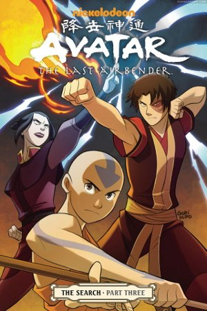 Avatar - The Last Airbender - The Search Anime comics