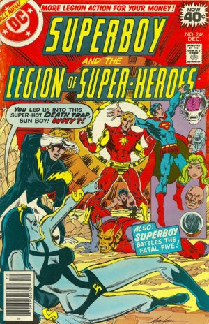 Superboy and the Legion of Super-Heroes # 246 Issues (1973 - 1979)
