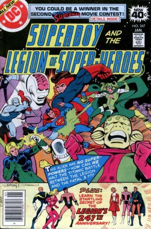 Superboy and the Legion of Super-Heroes # 247 Issues (1973 - 1979)