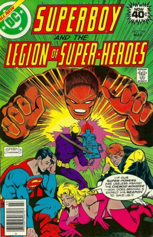 Superboy and the Legion of Super-Heroes # 249 Issues (1973 - 1979)
