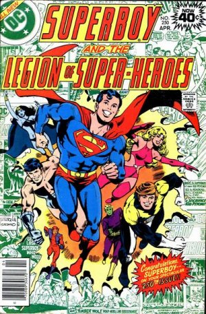 Superboy and the Legion of Super-Heroes # 250 Issues (1973 - 1979)