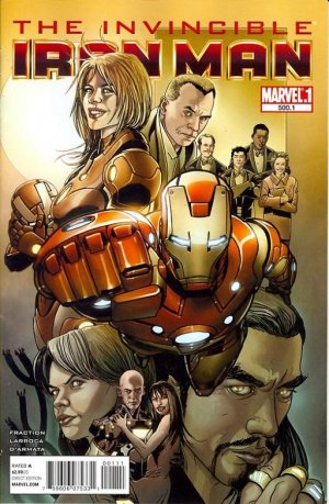 Invincible Iron Man # 500.1 Issues V1 Suite (2011 - 2012)