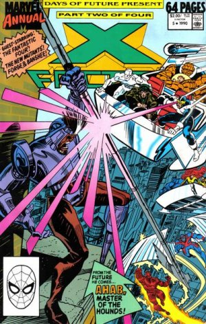 X-Factor # 5 Issues V1 - Annuals (1986 - 1994)
