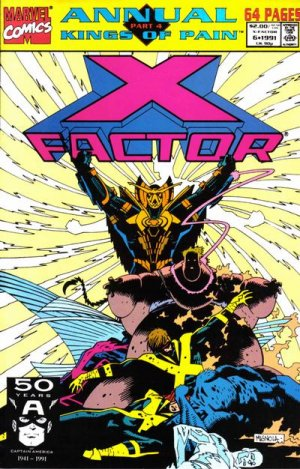 X-Factor # 6 Issues V1 - Annuals (1986 - 1994)