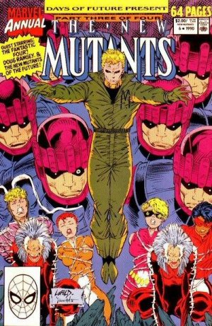 The New Mutants # 6 Issues V1 - Annuals (1983 - 1991)