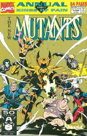 The New Mutants # 7 Issues V1 - Annuals (1983 - 1991)