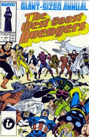 West Coast Avengers # 2 Issues V2 - Annuals (1986 - 1992)