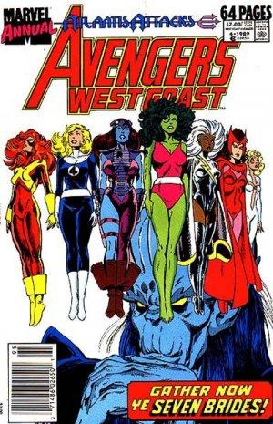 West Coast Avengers 4 - Gather Now Ye 7 Brides!