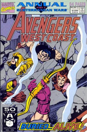 West Coast Avengers 6 - A Storm in Subterranea