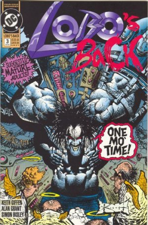 Lobo's back # 3 Issues