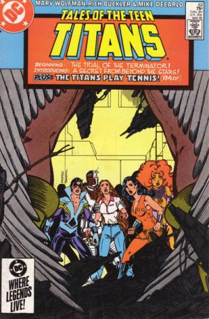 Tales of the Teen Titans # 53 Issues V2 (1984 - 1988)