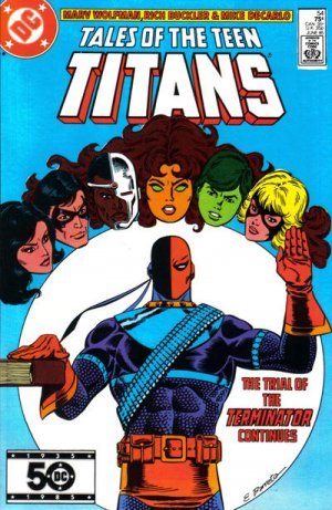 Tales of the Teen Titans # 54 Issues V2 (1984 - 1988)