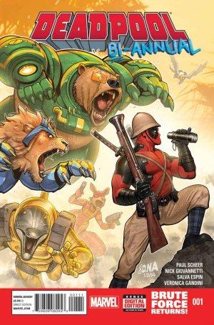 Deadpool # 1 Issues V4 - Bi-Annual V4 (2014)