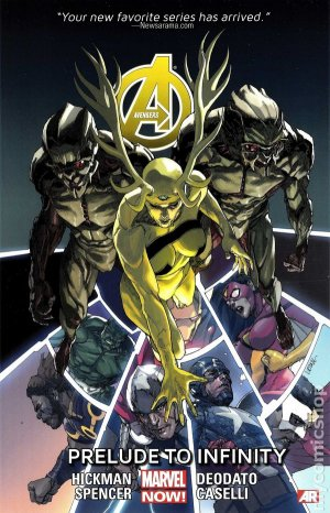 Avengers # 3 TPB Softcover - Issues V5 (2014)