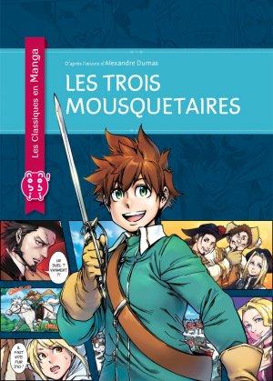 couverture, jaquette Les trois mousquetaires (Classiques en manga)   (nobi nobi!)