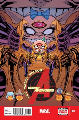 Secret Avengers # 8 Issues V3 (2014 - 2015)