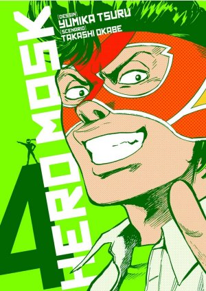 couverture, jaquette Hero Mask 4  (Tonkam)